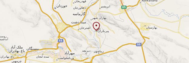 Carte Pir Bakran - Iran