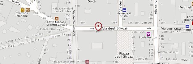 Carte Palazzo Strozzi - Florence