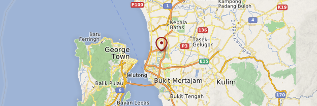 Carte Butterworth - Malaisie
