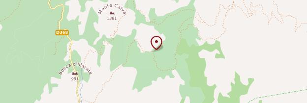Carte Alta Rocca - Corse