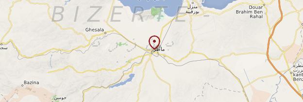 Carte Mateur - Tunisie