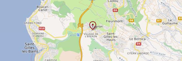 Carte L'Éperon - Réunion