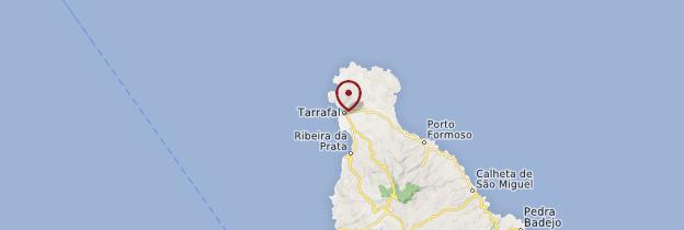 Carte Tarrafal - Cap-Vert