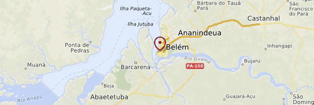 Carte Bresil Belem.Belem Amazonie Guide Et Photos Bresil Routard Com