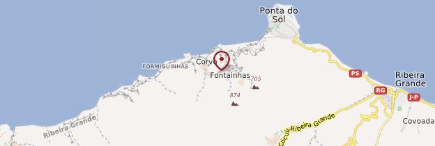 Carte Fontainhas - Cap-Vert