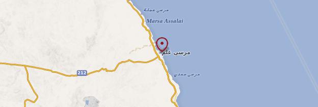 Carte Marsa Alam - Égypte