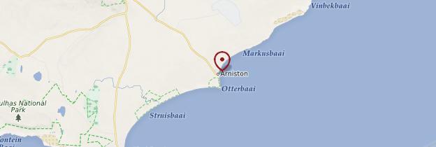 Carte Arniston - Afrique du Sud