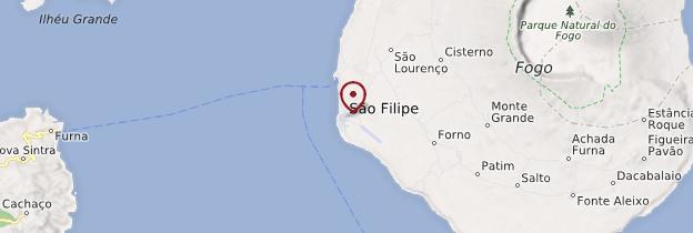 Carte São Filipe - Cap-Vert