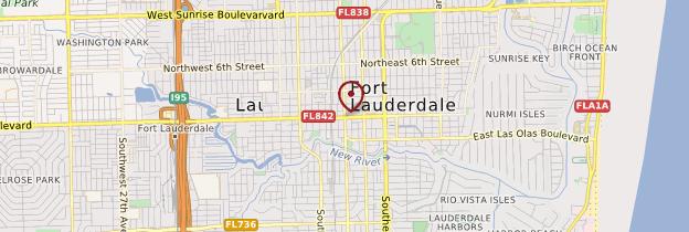 Carte Fort Lauderdale - Floride