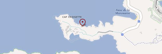 Carte Cap Croisette - Marseille