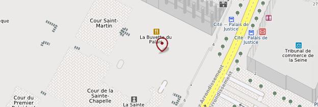Carte Conciergerie - Paris