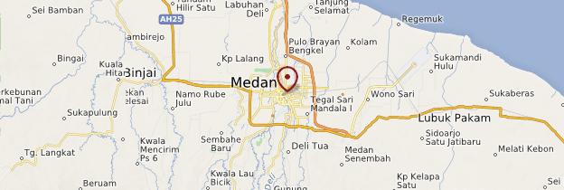 Carte Medan - Sumatra