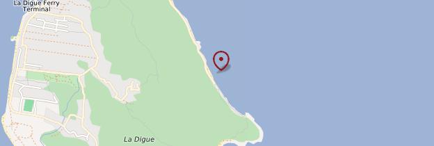 Carte Anse fourmi - Seychelles