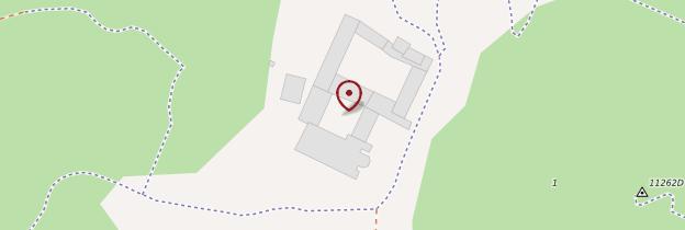 Carte Abbaye de Fontfroide - Languedoc-Roussillon
