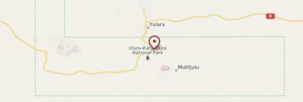 Carte Uluru - Australie