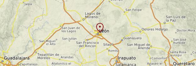 Carte León - Mexique