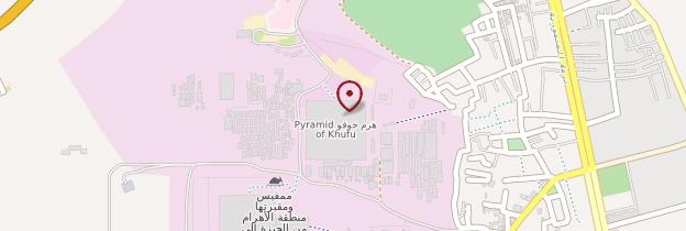 Carte Pyramide de Kheops - Égypte