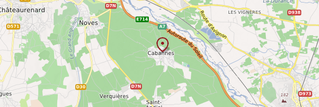 Carte Cabannes - Provence