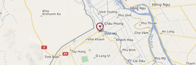Carte Châu Ðốc - Vietnam