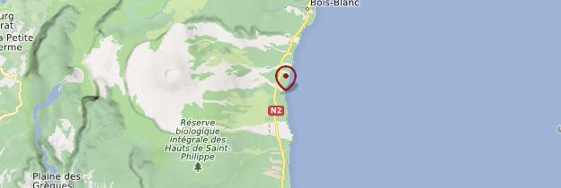 Carte Grand-Brûlé - Réunion
