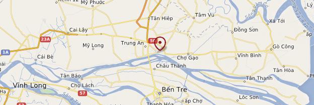Carte Mỹ Tho - Vietnam