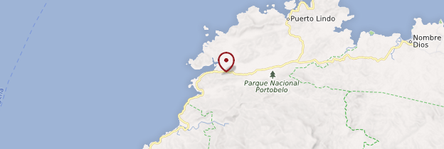 Carte Portobelo - Panama