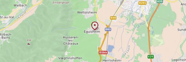 Carte Eguisheim - Alsace