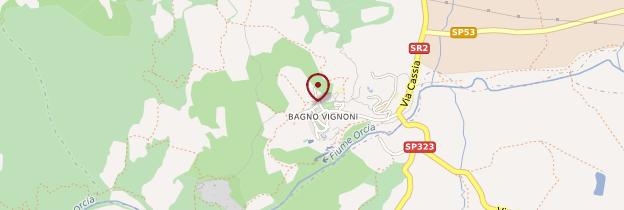 Carte Bagno Vignoni - Toscane