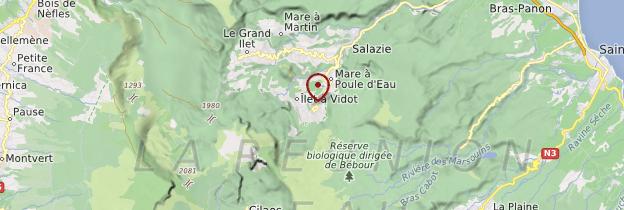 Carte Hell-Bourg - Réunion