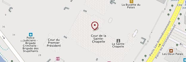 Carte Sainte-Chapelle - Paris