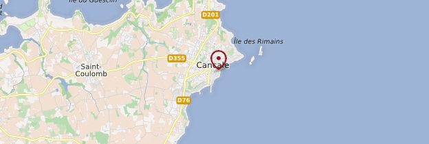 Carte Cancale (Kankaven) - Bretagne