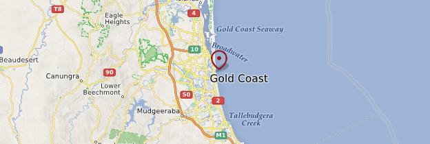 Carte Australie Surfers Paradise.Surfers Paradise Gold Coast Guide Et Photos Australie