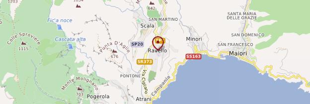 Carte Ravello - Italie