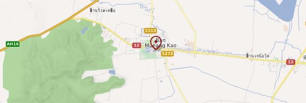 Carte Wat Mahathat - Thaïlande