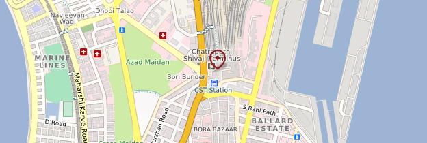 Carte Victoria Station - Mumbai