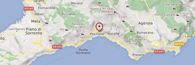 Carte Positano - Italie