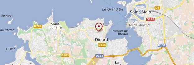 Carte Dinard (Dinarzh) - Bretagne