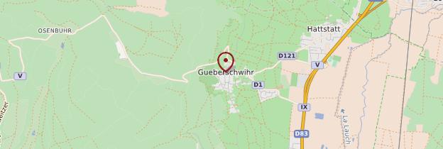 Carte Gueberschwihr - Alsace