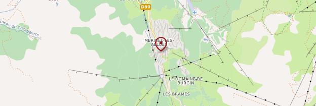 Carte Méribel - Alpes