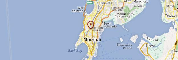 Carte Dhobi Ghat - Mumbai