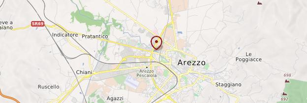 Carte Arezzo - Toscane