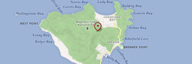 Carte Magnetic Island - Australie