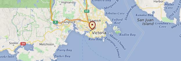 Carte Victoria - Canada