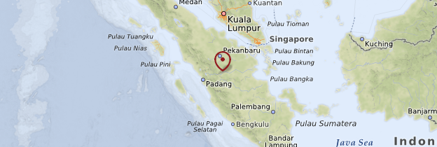 Carte Sumatra - Sumatra