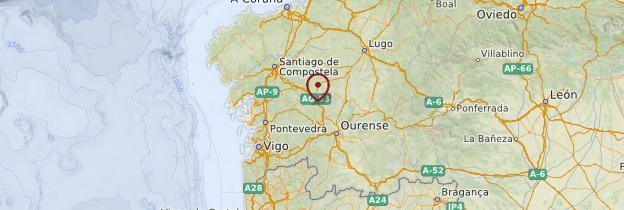 Carte Galice - Espagne