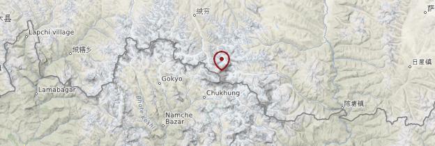 Carte Everest - Népal