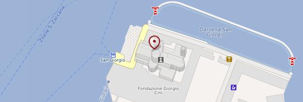 Carte San Giorgio Maggiore - Venise