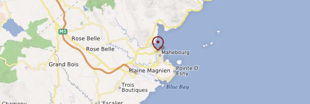 Carte Mahébourg et le Sud - Île Maurice, Rodrigues