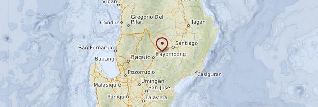 Carte Luzon - Philippines