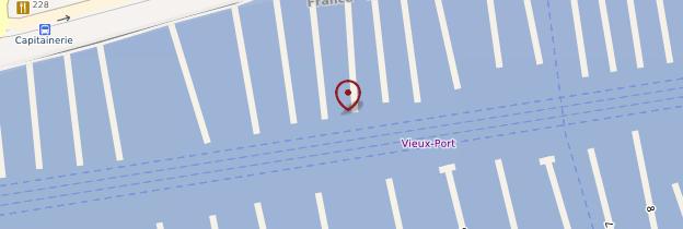 Carte Vieux-Port - Marseille